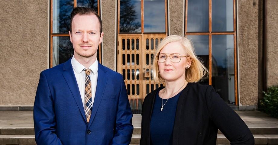 Rasmus Lenefors,  Sara Heelge Vikmång,