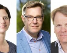 Johan Larson, Josefine Johansson, Ragnar Sjölander FOTO: Peter Knutsson. Linus Meyer. Lärarnas Riksförbund.