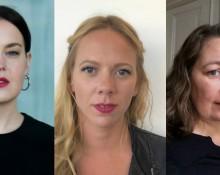 Lisa Palm, Gerda Larsson, Malin Ericsson