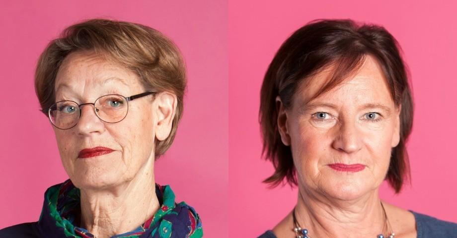 Gudrun Schyman, Annelie Nordström, Fi Foto: Oscar Stenberg