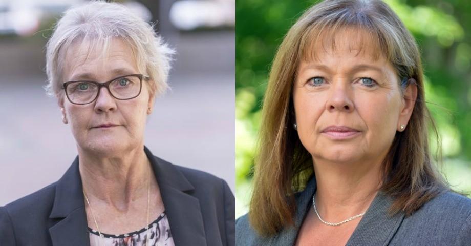Kristina Billberg, Sveriges farmaceuter och Annika Babra, Läkemedelsverket.