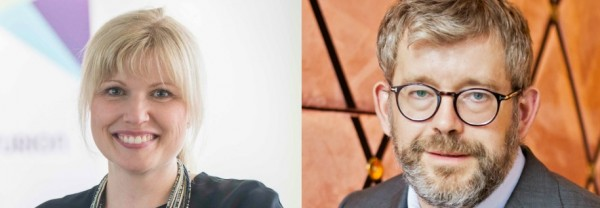 Ann-Therése Enarsson och Carl Melin,
