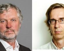 Peter Eriksson (tv.), Hans Lind (th). Foto: Ninni Andersson/Regeringskansliet, Bokriskommittén