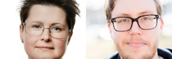 Ida Kåhlin och Carl Eon Foto: Jonas Eriksson