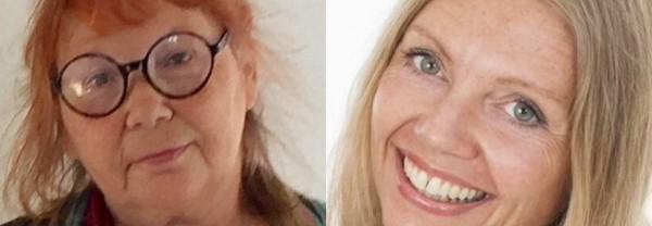Ingalill Bjartén och Madeleine Göransson