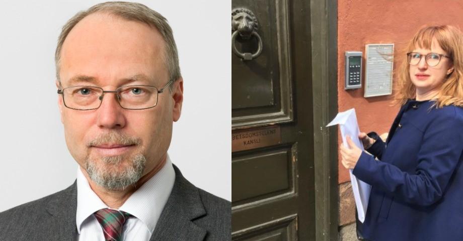 Karl Pfeifer, Arbetsgivarverket och Veera Littmarck, ST.