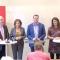 Skärmdump från LO-förbundens presskonferens.