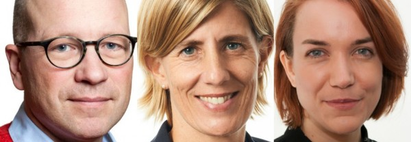 Ola Pettersson, Åsa-Pia Järliden Bergström, Anna Almqvist