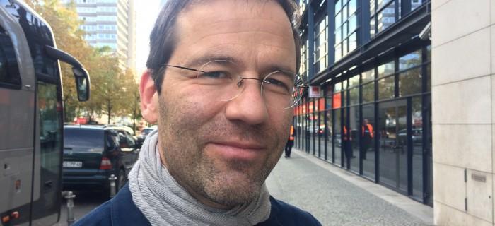 Ralph Obermauer, strategiansvarig för De gröna i riksdagen. Bild: Elsa Persson