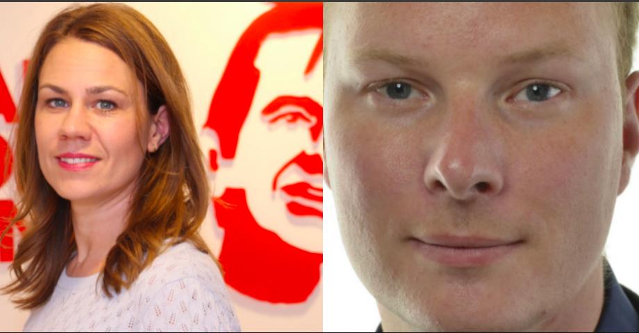 Anna Sundström och Anders Österberg