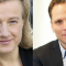 Cecilia Hermansson, KTH och Johan Ingelskog, Kommunal. Bild: KTH, Kommunal