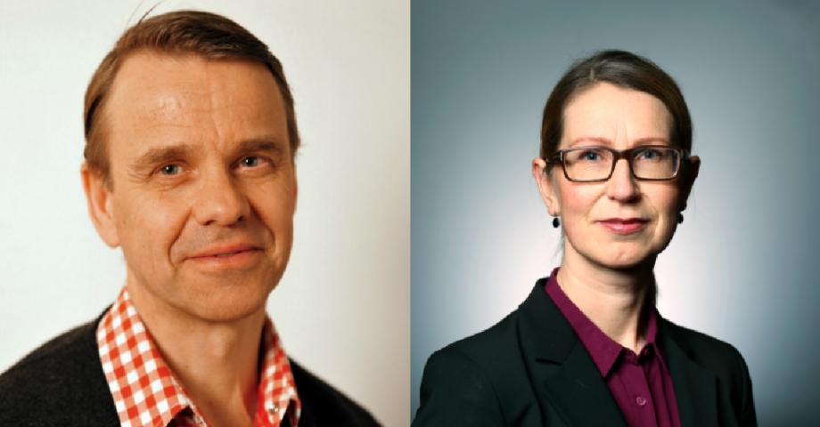 Sten Gerllstedt, Anna Bergsten. FOTO: press