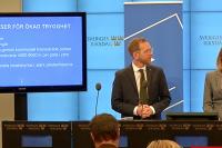 Jakob Forssmed och Ebba Busch Thor, KD. Bild: skärmdump