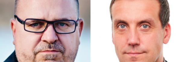 Karl-Petter Thorwaldsson och Oscar Eneroth, LO