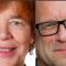 Roger Mogert (S), Ann Mari Engel (V),  Micke Seid (MP), Sofia Lundin (Fi),