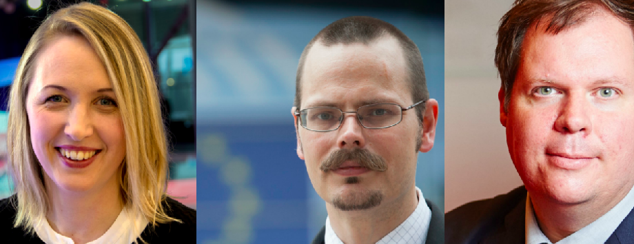 Jytte Guteland (S), Max Andersson (MP), Martin Jefflén.