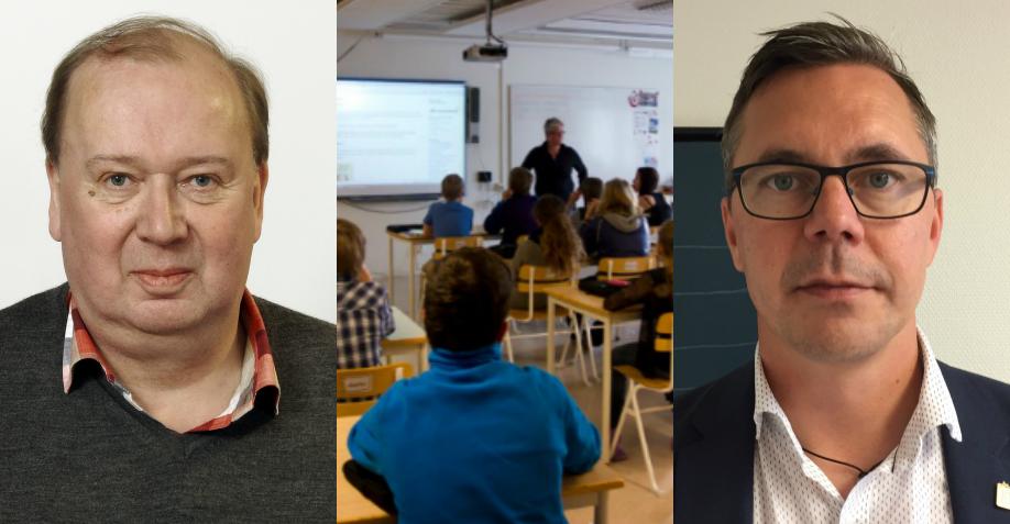 Kommunpolitikerna Torbjörn Parling (t.v.) och Johan Söderberg.