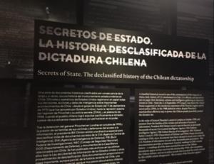Dokument om USA:s planer på att störta Allende Foto: Pierre Schori