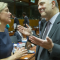 Finansminister Magdalena Andersson (S) och EU-kommissionären Pierre Moscovici under ett möte förra året. Bild: Europeiska rådet.