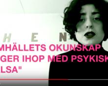 Skärmdump från RFSL:s film om rapporten.
