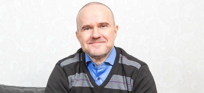 Thomas Winberg, ordförande för Posithiva gruppen. Foto: Jonas Norén