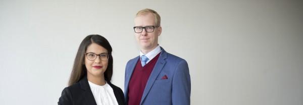 Sara Kukka-Salam och Arne Öberg,