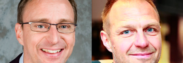 Mats Djurberg och Jonas Nordling Foto: Theresia Viska