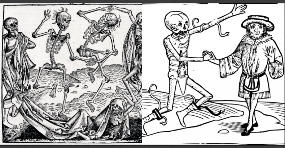 Kan pesten förklara jämlikheten? Frågan tas upp i The Great Leveler. Bilder: Pixaby