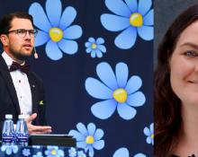 Jimmi Åkesson (SD) / Maja Stilling Tankesmedjan Tiden