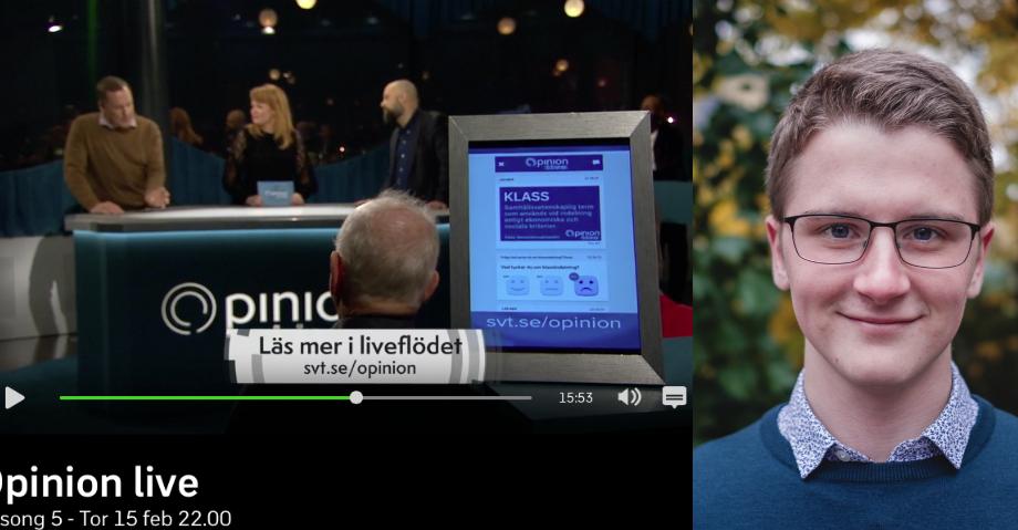 Opionion Live, Fredrik Banke