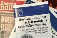 tidningsomslag pengar politik