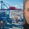 Hamnarbetarförbundet och Transports avtalssekreterare Peter Wistén