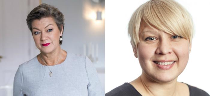 Ylva Johansson, Ulrika Vedin