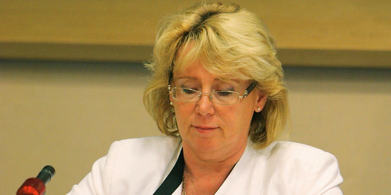 Miljöminister Lena Ek. Bild: Flickr