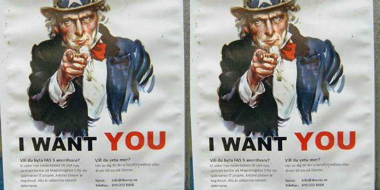 Daccus affischer.