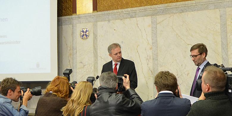 Försvarsminister Sten Tolgfors. Bild: Magnus Åsblad
