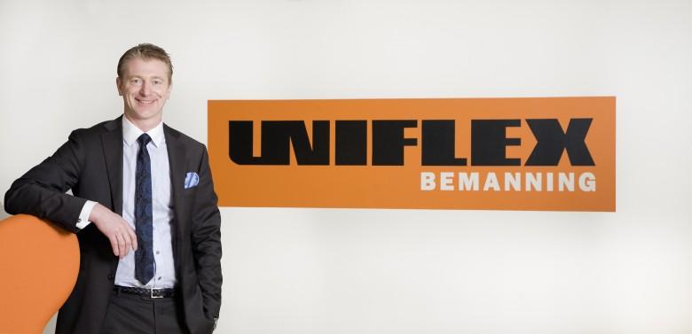 Uniflex vd Jan Bengtsson. Bild: Uniflex