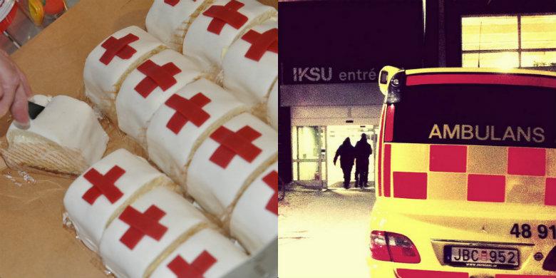 När Doroteaborna hälsade på landstingspolitikerna i Umeå i vintras bjöd de på specialgjorda ockupantbakelser. Bild: Bertholof Brännström/Flickr