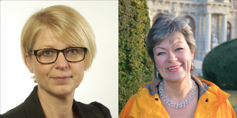 Elisabeth Svantesson (M) och Ylva Johansson (S). Foto: Riksdagen och privat.