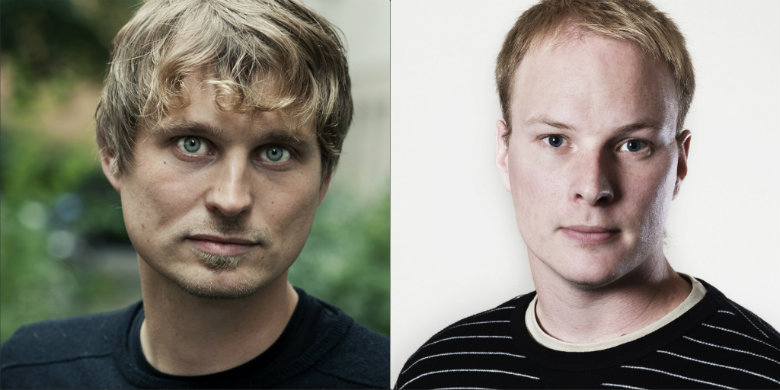 Mattias Vepsä och Anders Österberg
