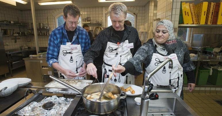 På mångfaldskurs i Rosengård. Bild: Klas Andersson
