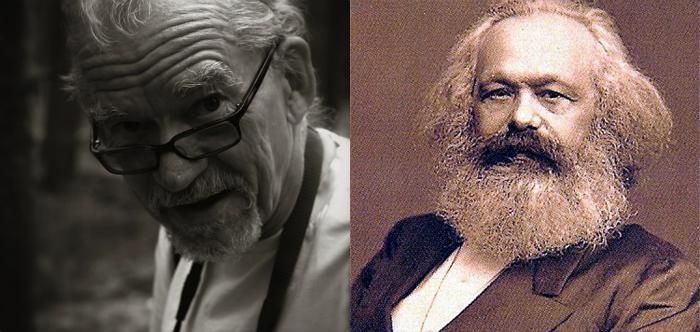 Bild: Sven-Eric Liedman: Creative Commons/Karl Marx: Wikimedia Commons