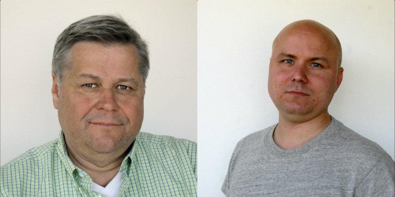 Lars Lindgren och Mattias Schulstad
