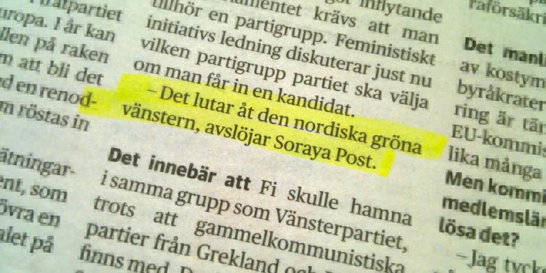 Dagens Nyheter 21 maj 2014.