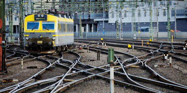 Järnväg. Foto: flickr.com/Mikael Tigerström