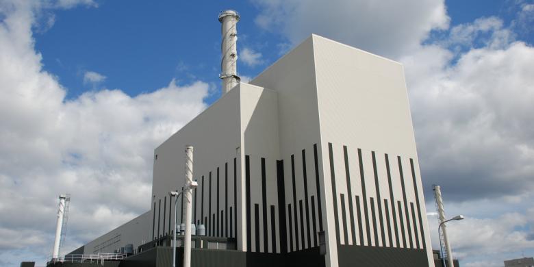 Kärnkraftverket i Oskarshamn. Foto: OKG