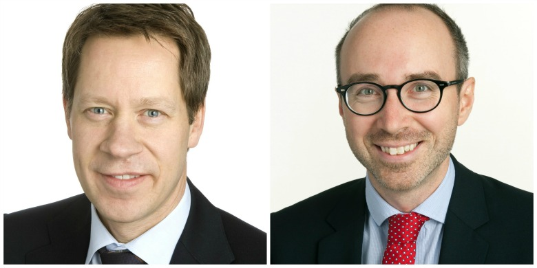 Johan Fall och Mikael Witterblad, Pressbild: Svenskt Näringsliv.