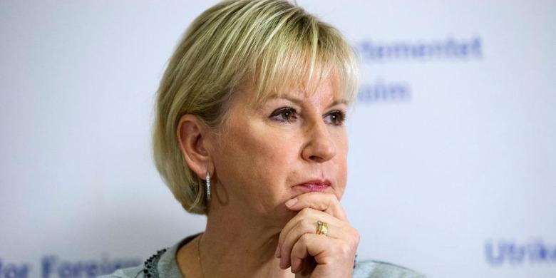 Margot Wallström Bild: Martina Huber/Regeringskansliet