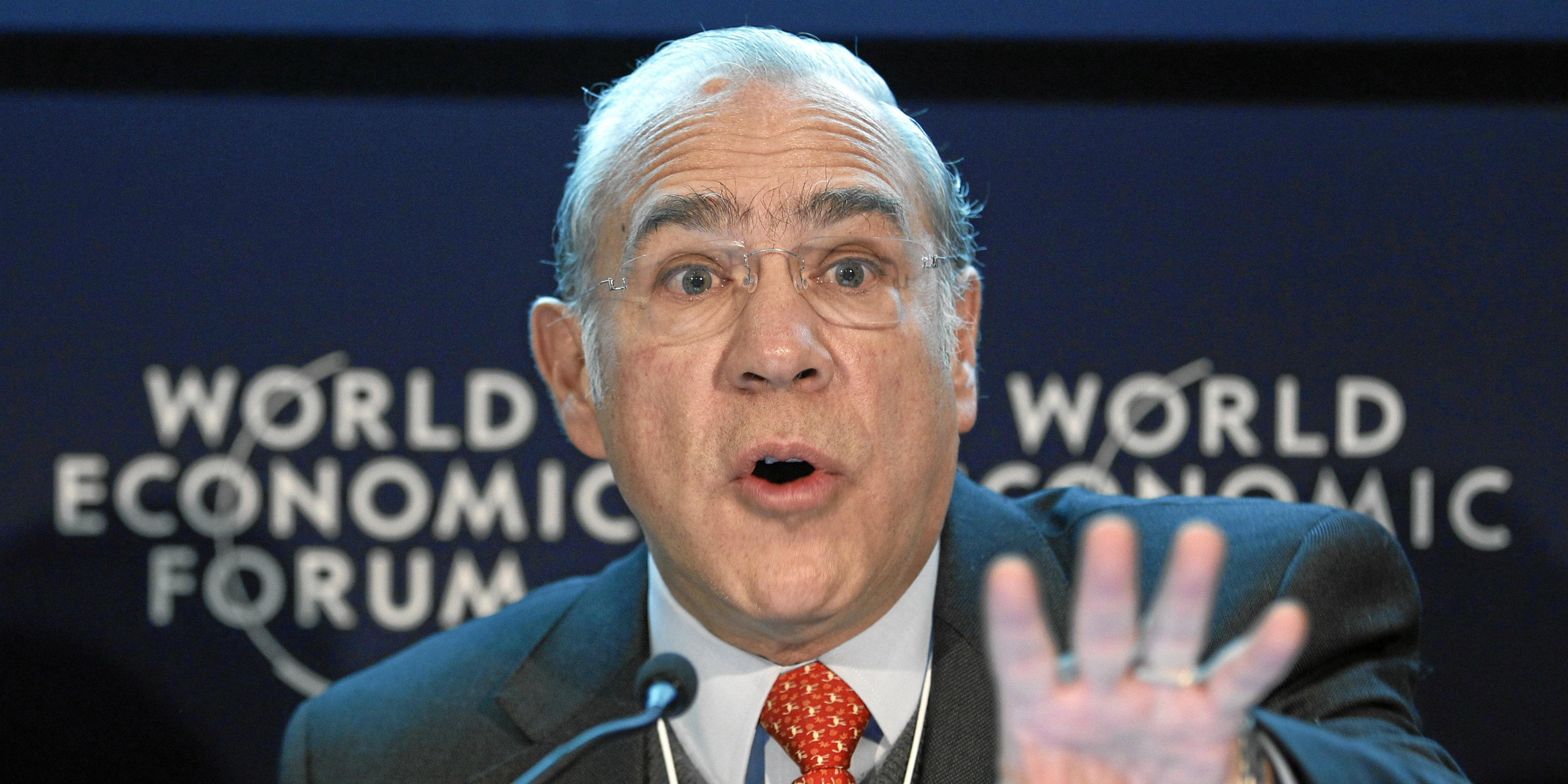 Angel Gurría. Foto: World Economic Forum