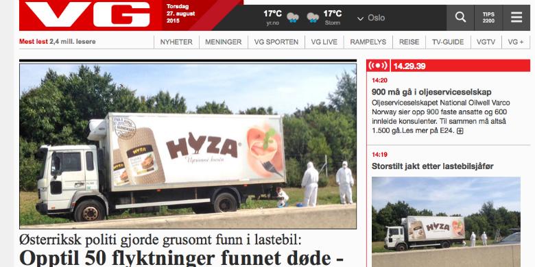 Foto: Skärmdump från VG